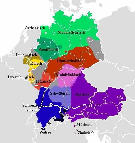 Языки австрии — википедия. что такое языки австрии