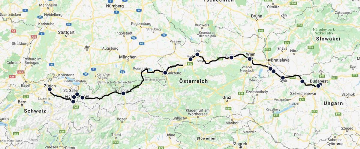 Мюнхен - цюрих: как добраться, расстояние