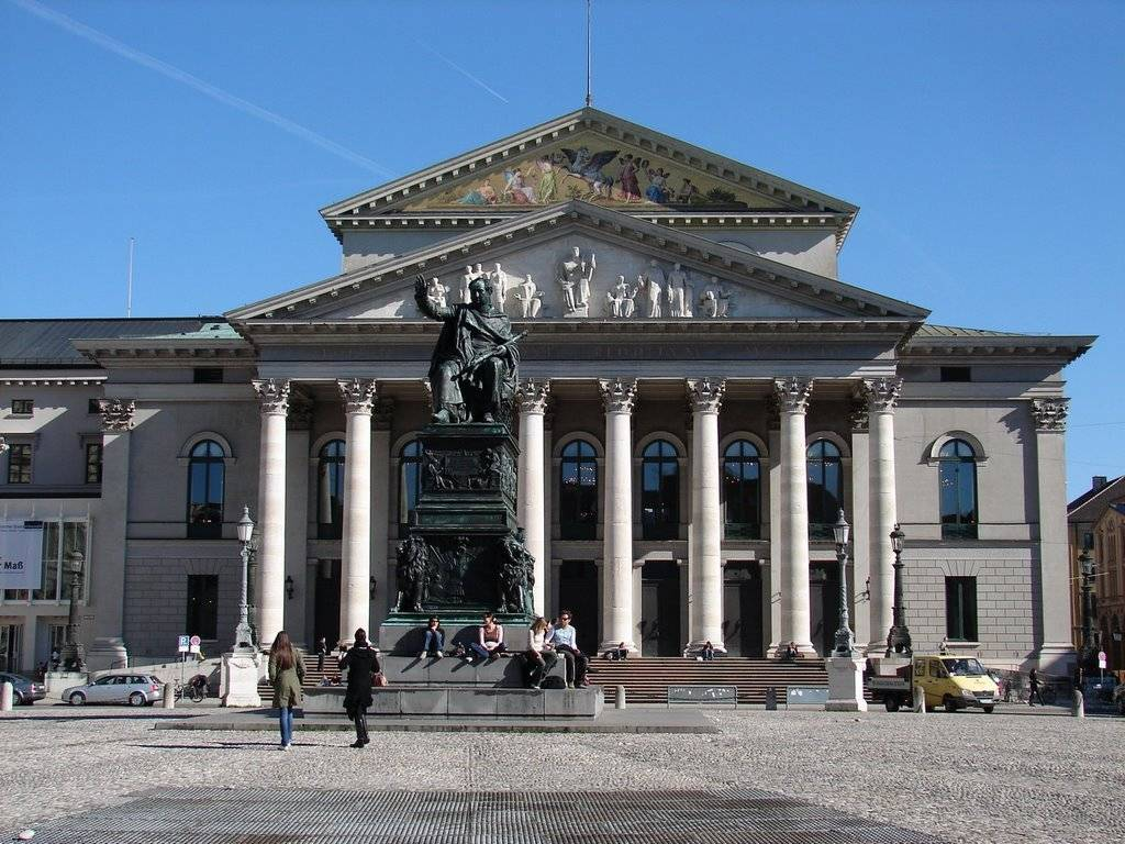Bayerische staatsoper - баварская государственная опера