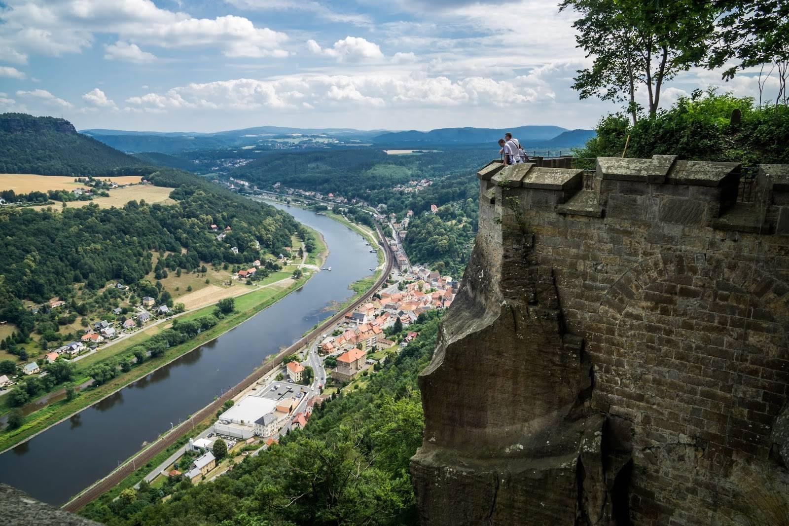 Мост и скалы бастай – каменные чудеса германии