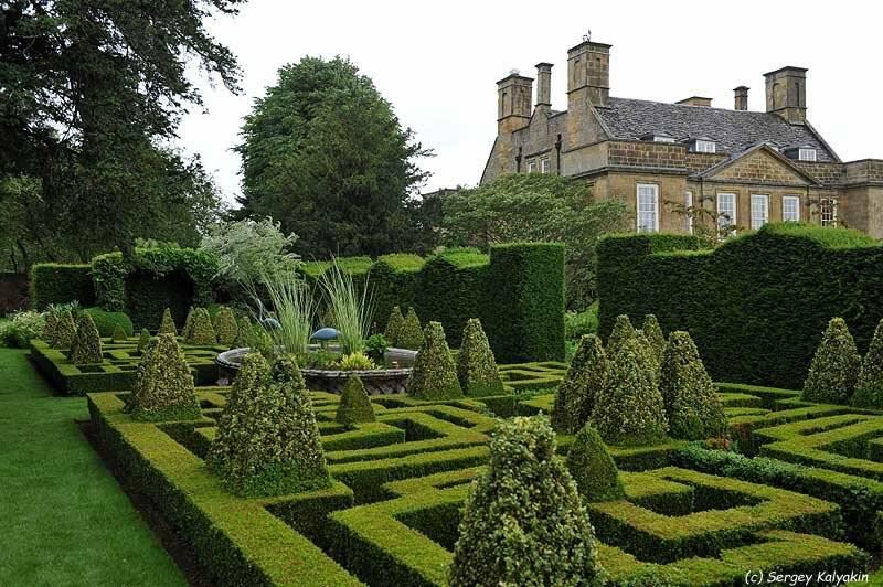 Английский ландшафтный дизайн, особенности, фото