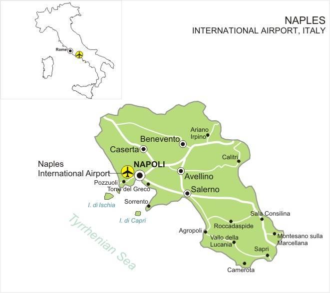 Международные аэропорты италии