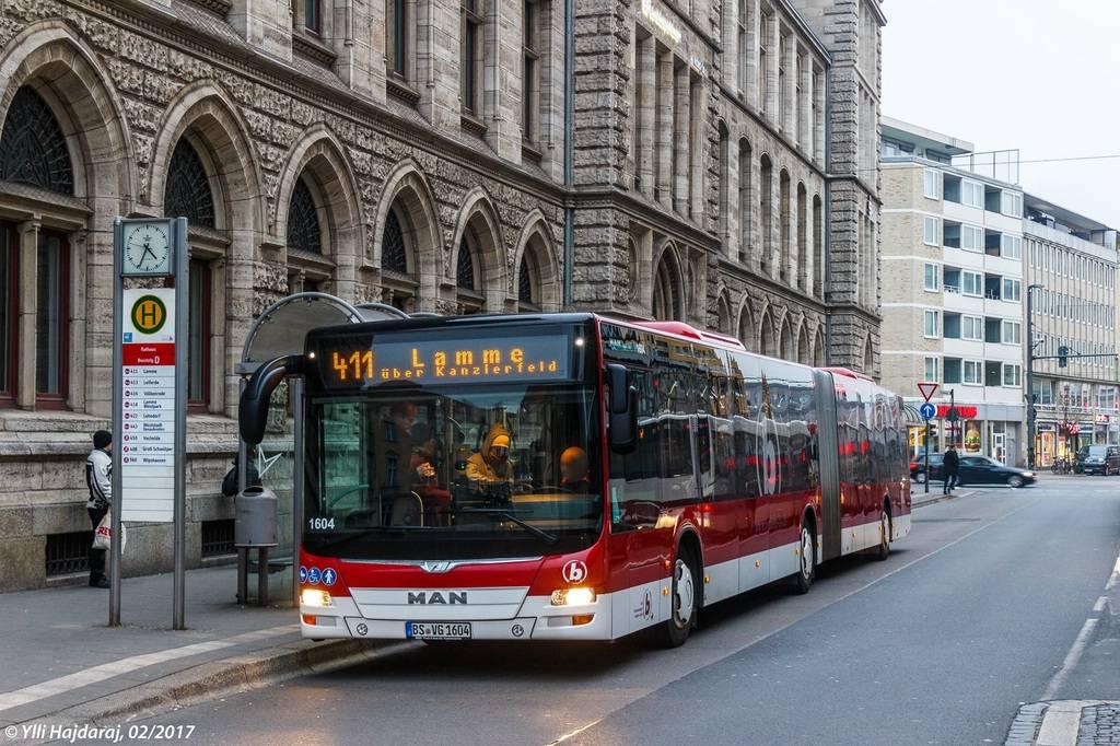 Городской транспорт в германии | штудирен