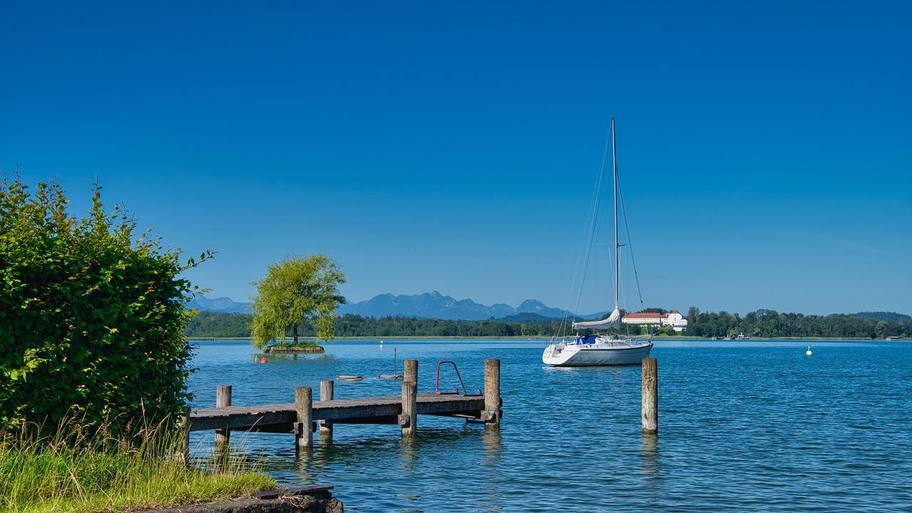"""Озеро химзее: природные и исторические красоты """"баварского моря"""""""