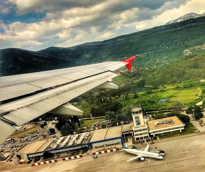 Аэропорт черногории: описание терминалов, расположение