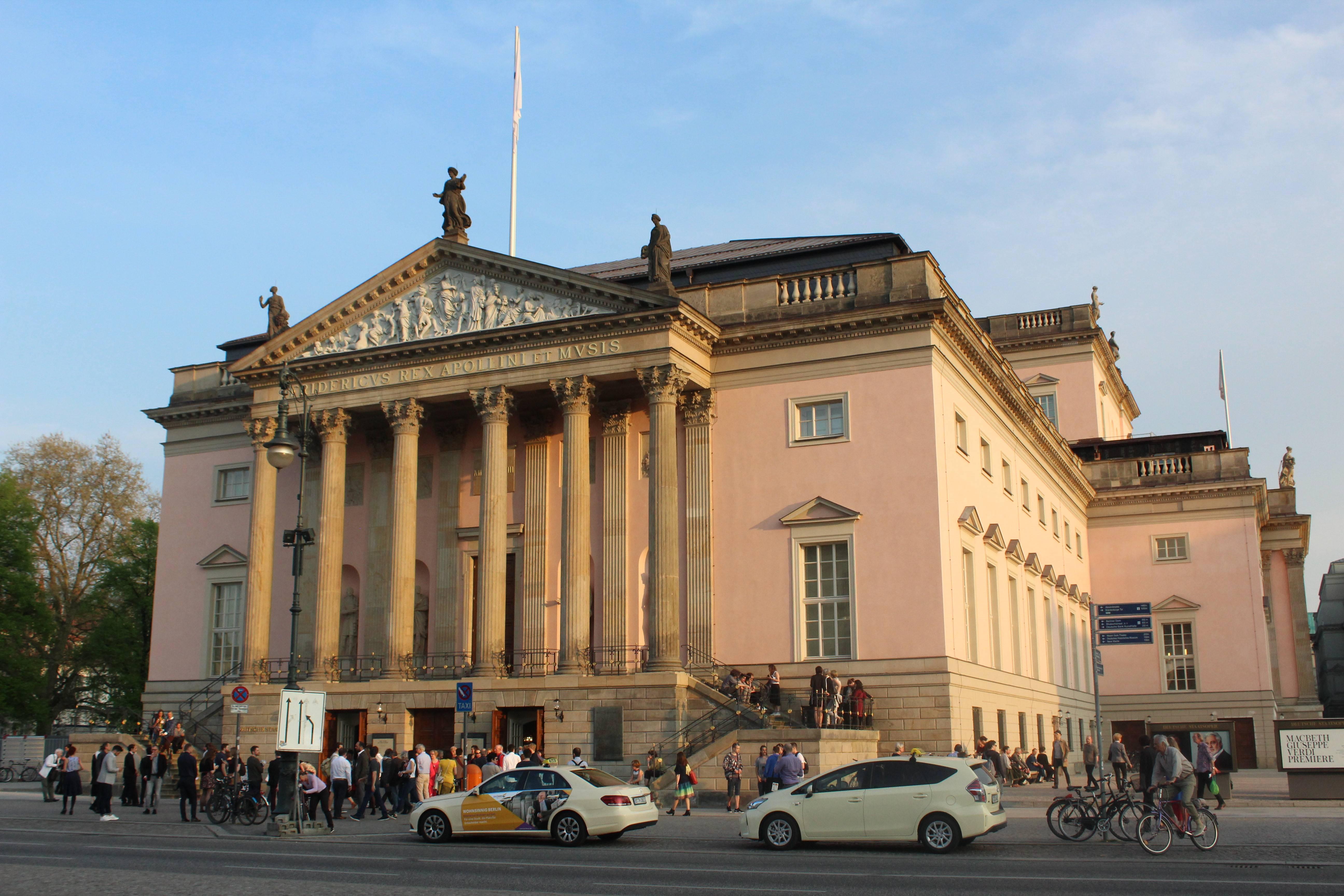 Берлинская государственная опера — википедия. что такое берлинская государственная опера