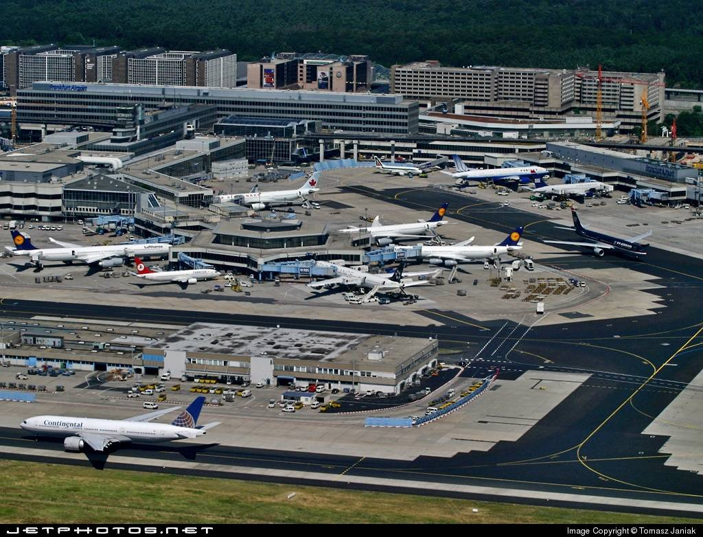 Франкфурт-на-майне (аэропорт) — википедия