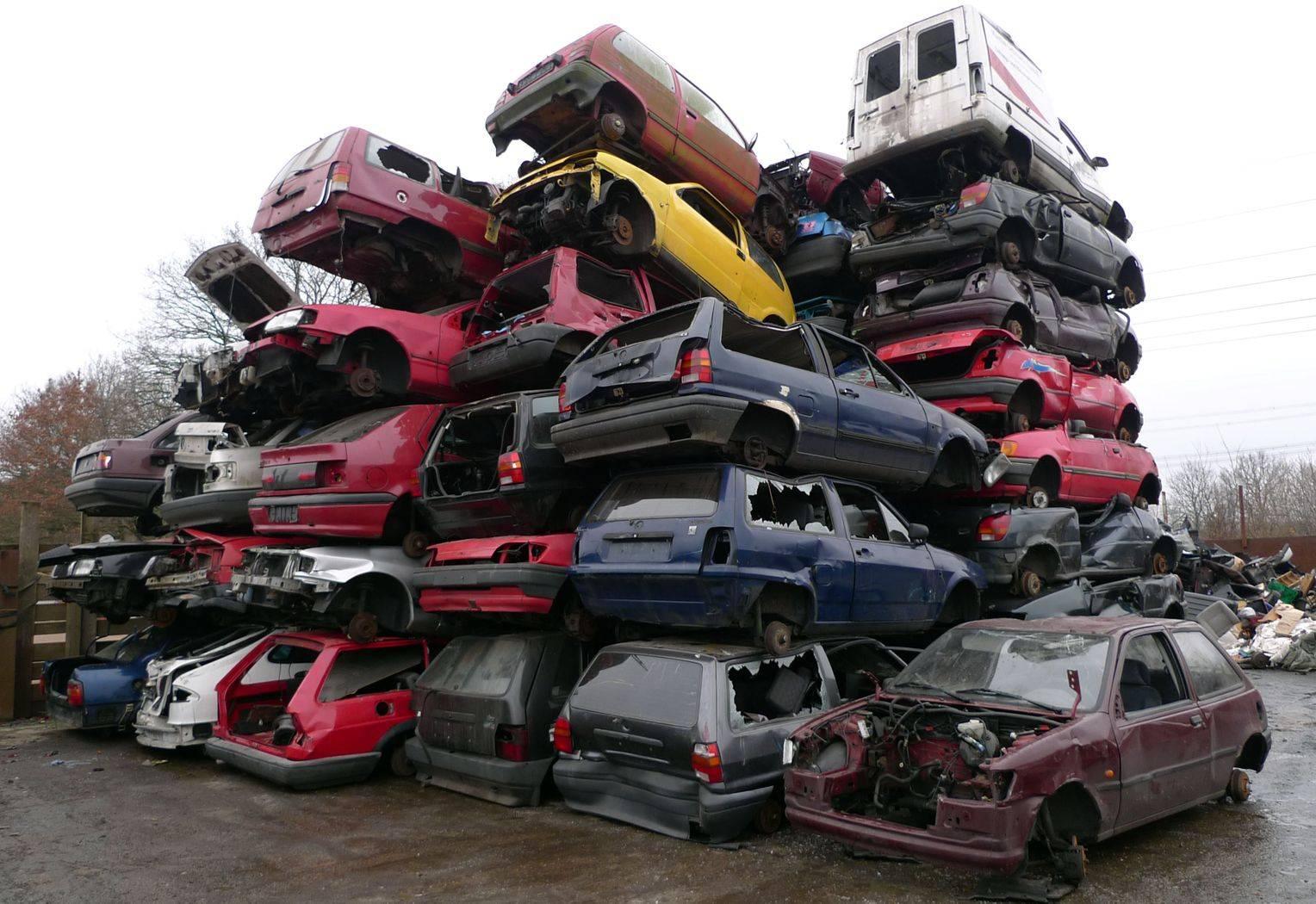 Автомобильные свалки в германии: как проходит утилизация авто