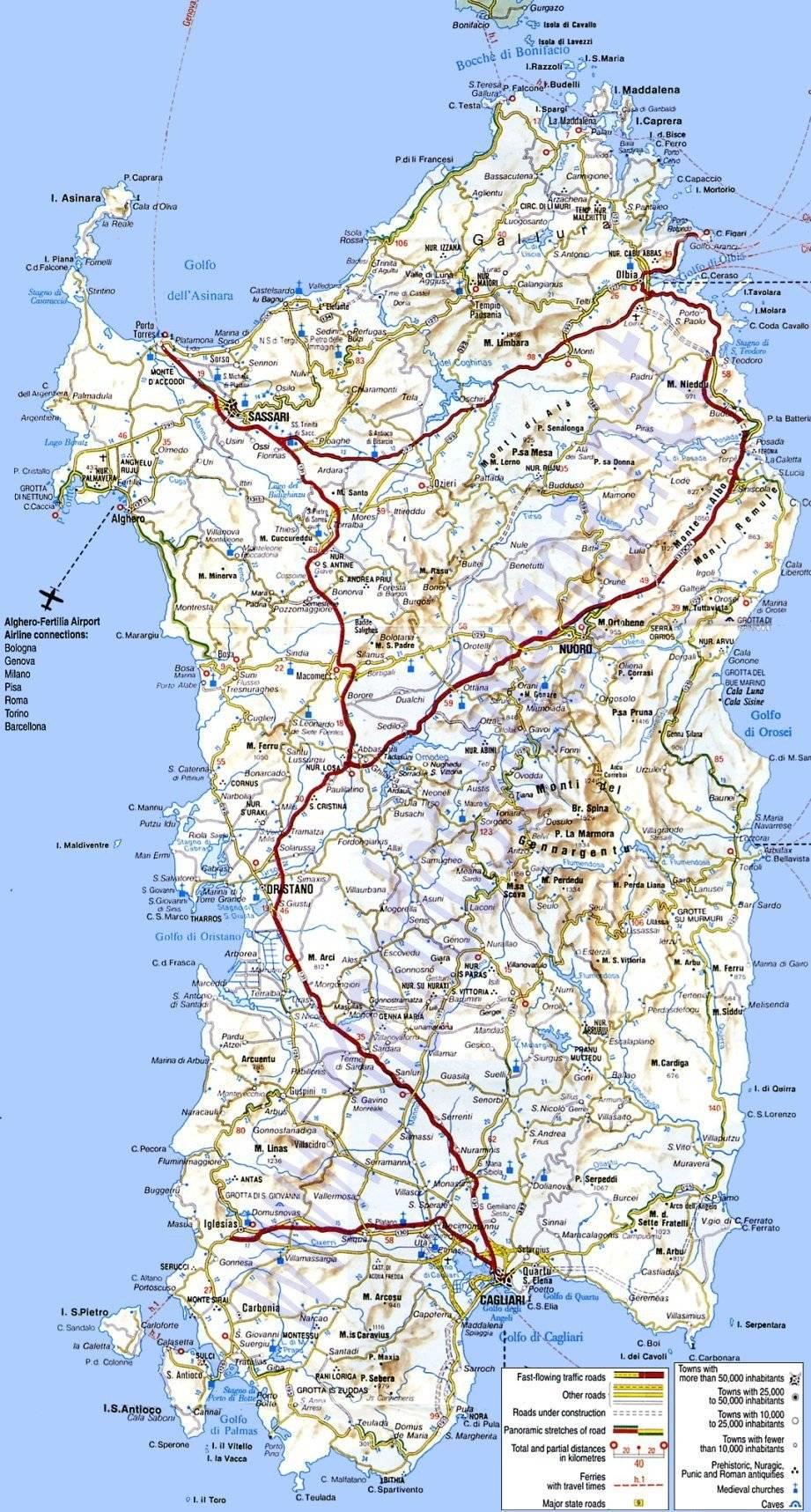 На сардинию самостоятельно — как добраться до итальянского острова