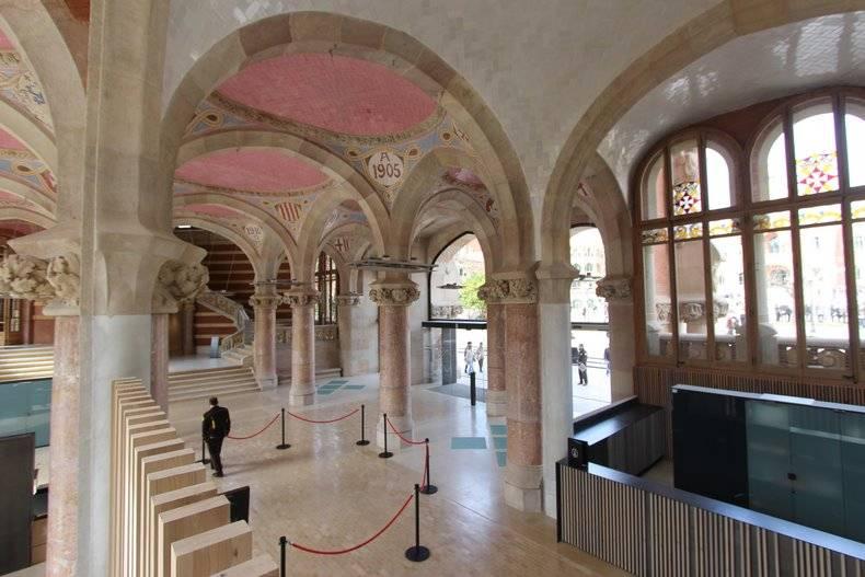 Барселона, больница сант-пау, шедевр доменека-и-монтанера