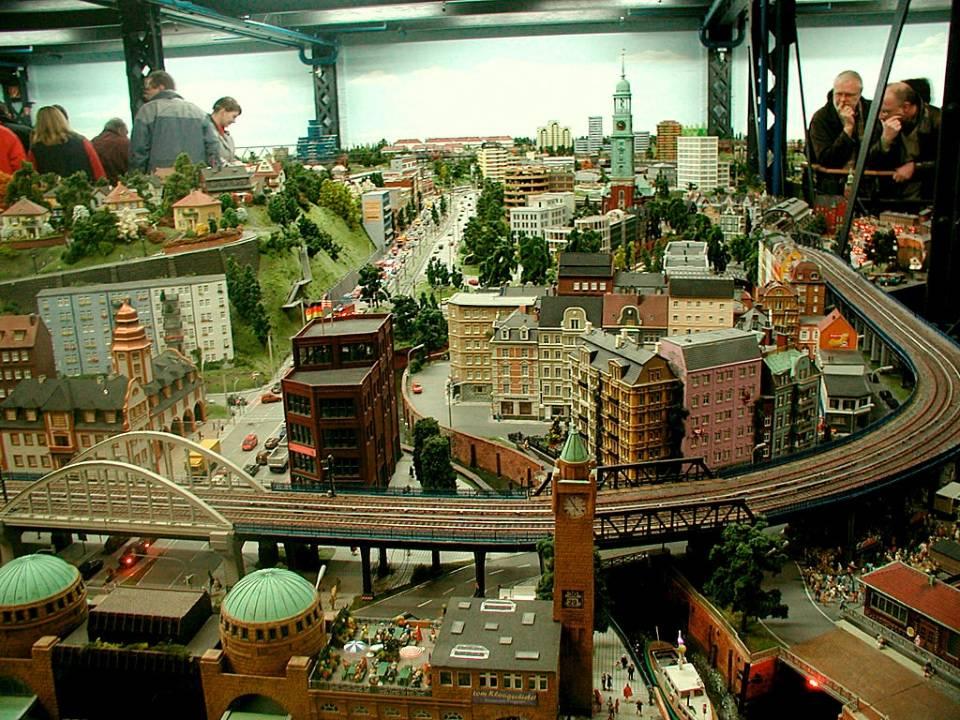Миниатюрная страна чудес и улица репербан, гамбург, часть 3.