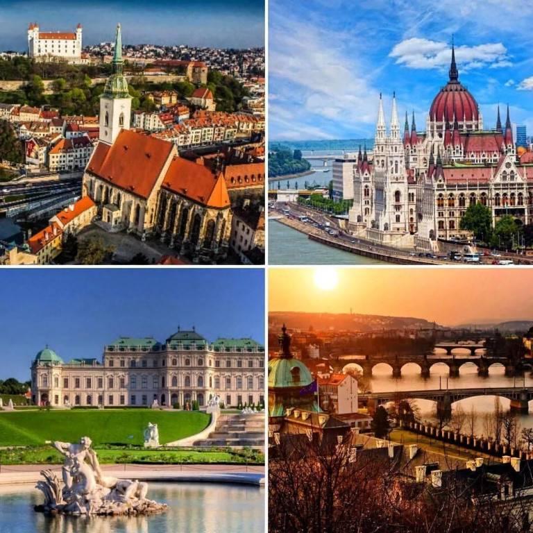 Прага - вена - будапешт - братислава, комбинированный тур : чехия от туроператора нисса-тур
