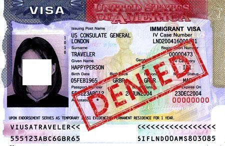 Виза в сша   отказ в выдаче визы сша, причины для отказа в визе в америку