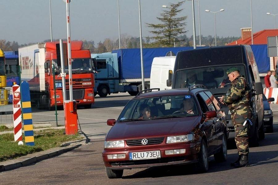 Границы украины и польши: правила пересечения