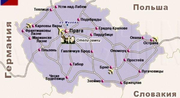 Аэропорты чехии: прага, подрубице, брно и карловы вары