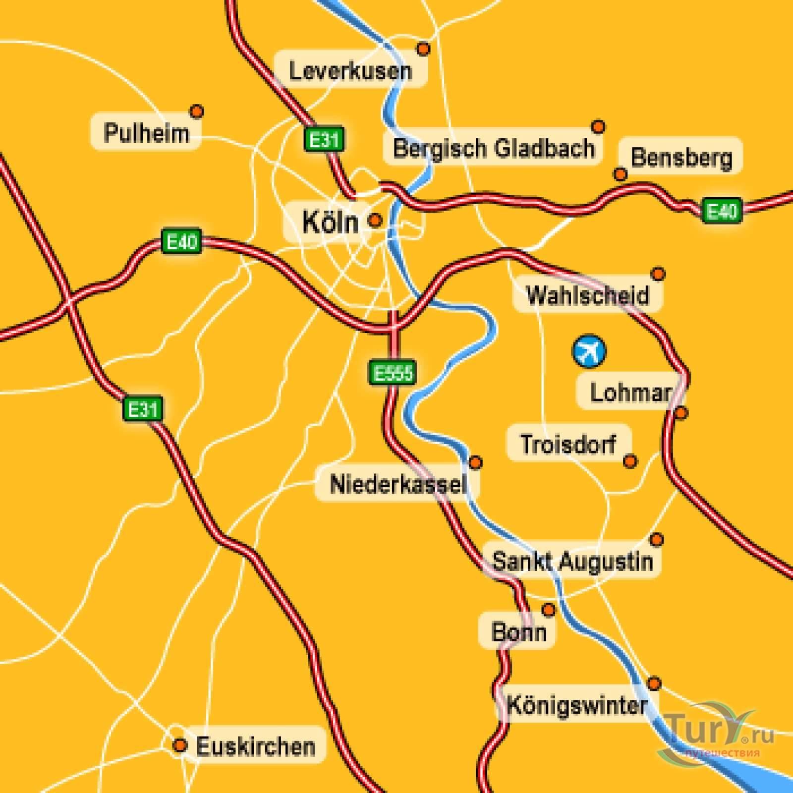 Добираемся из кельна в бонн - ваш личный путеводитель по городам европы