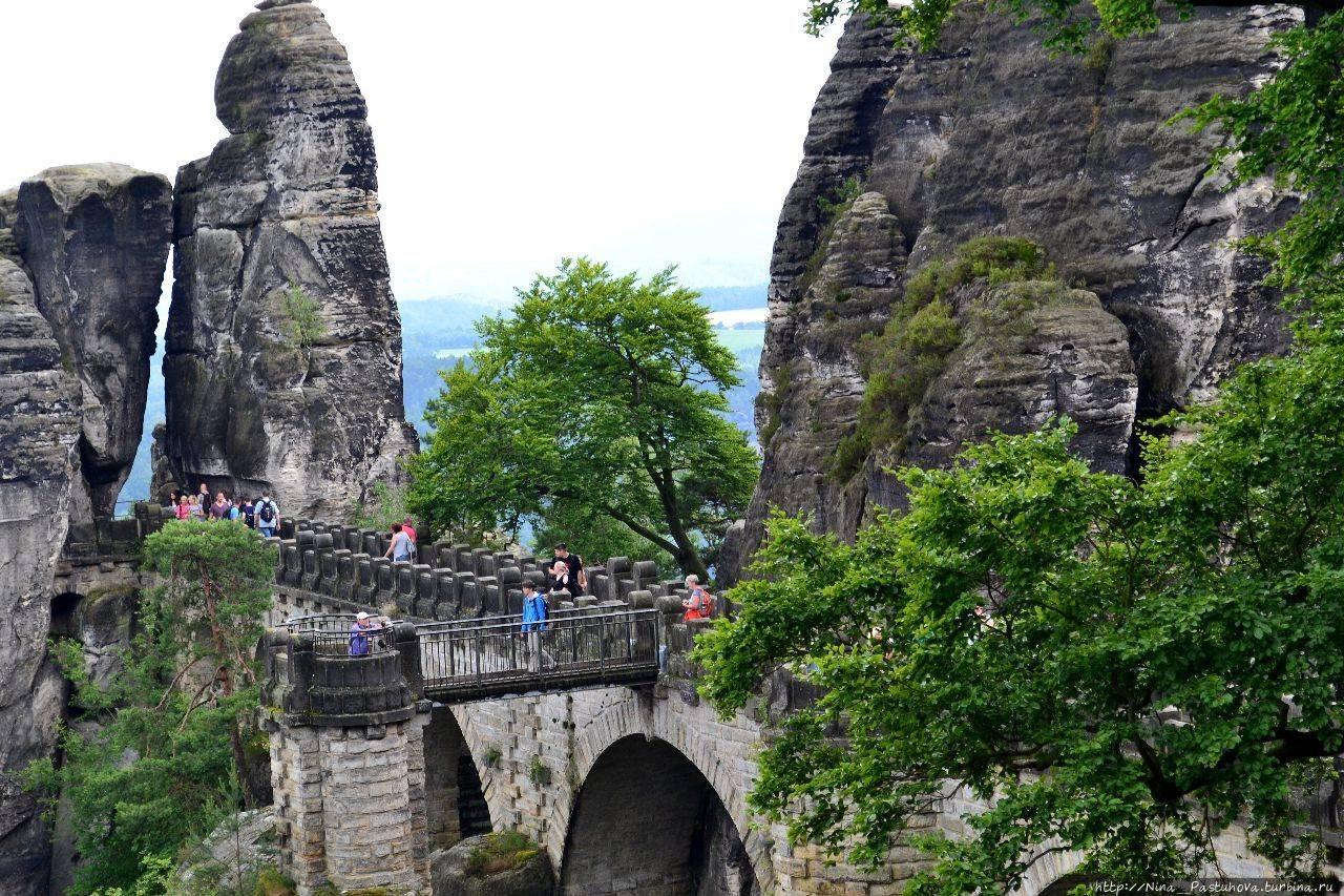 Национальный парк саксонская швейцария - история, фото, описание, экскурсии, карта