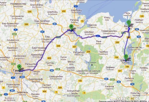 Поездка в германию на машине