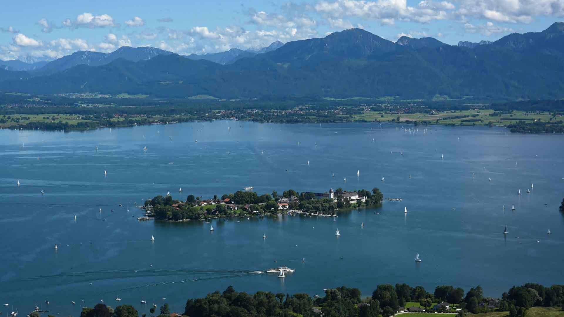 Фотоотчет: баварское море — озеро кимзее - путешествия с детьми