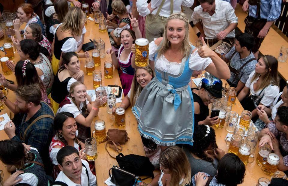 Октоберфест в германии 2019— как немцы пьют пиво
