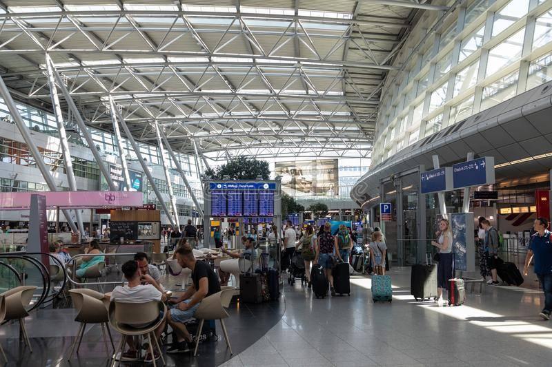 Международный аэропорт дюссельдорф