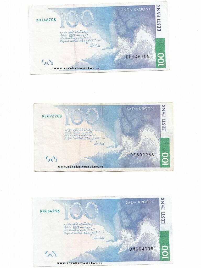 Монеты и банкноты эстонии. каталог