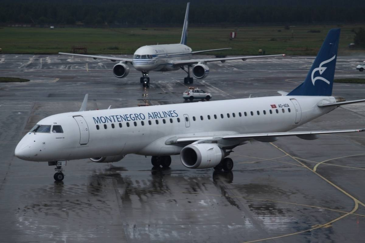 Montenegro airlines | багаж