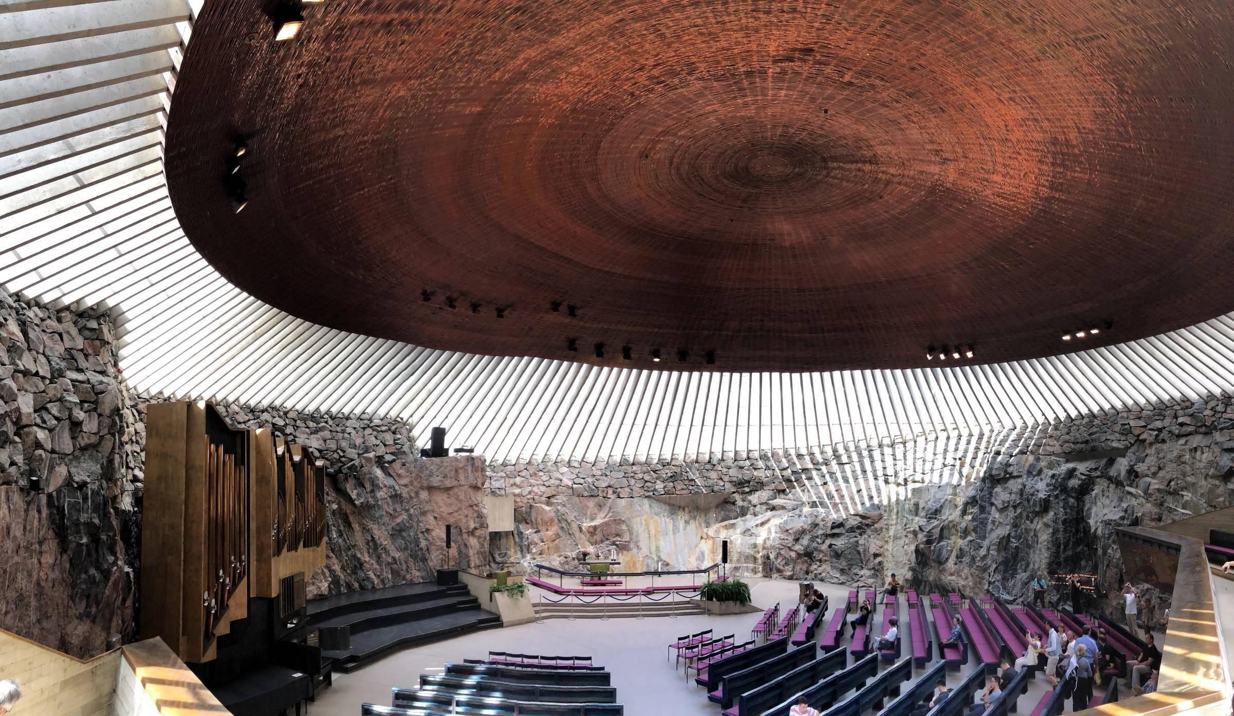Необычная достопримечательность хельсинки - церковь в скале: описание, как добраться