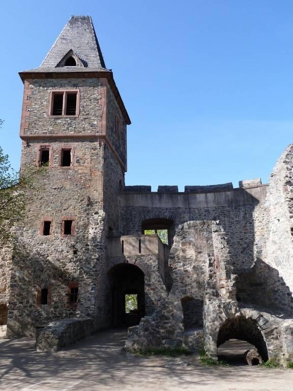 Замок франкенштейна в германии - краткий обзор и фото