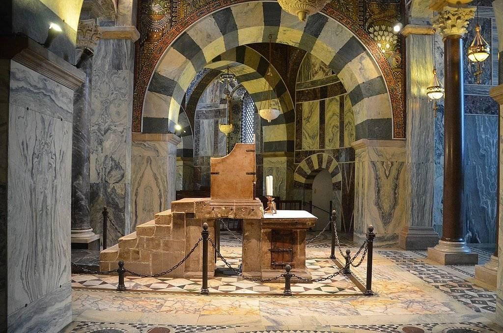 Дворец карла великого в ахене | чудеса света