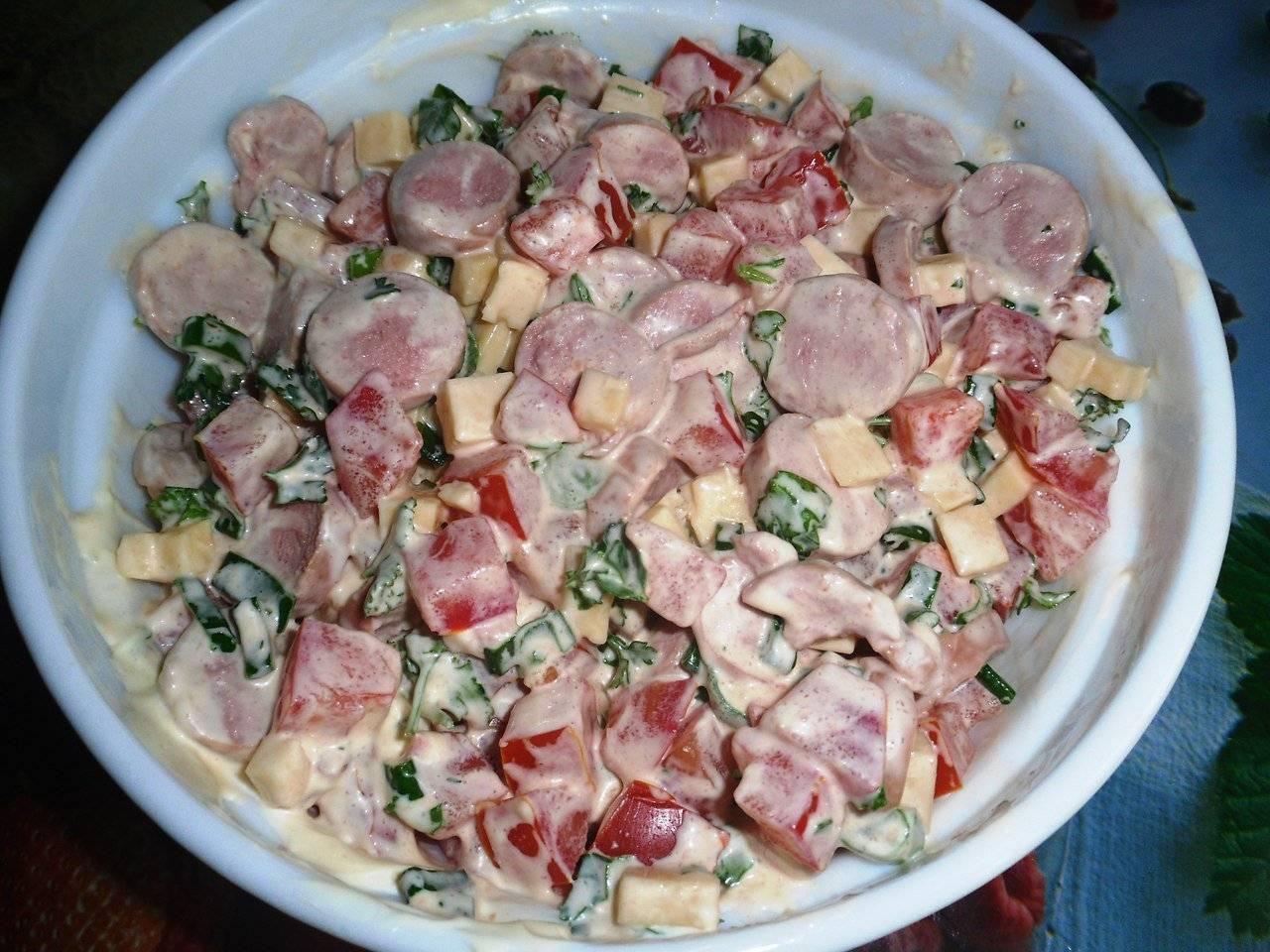 «баварский» салат - вкусные и разные рецепты сытной закуски для любого случая