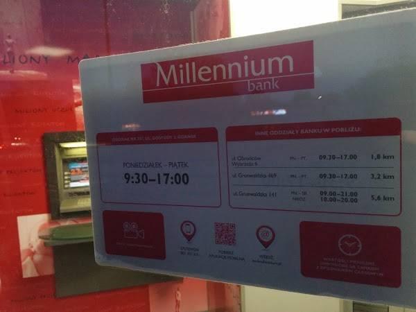 Банк миллениум (millennium) в польше: как проверить счет, снять деньги в украине и закрыть?