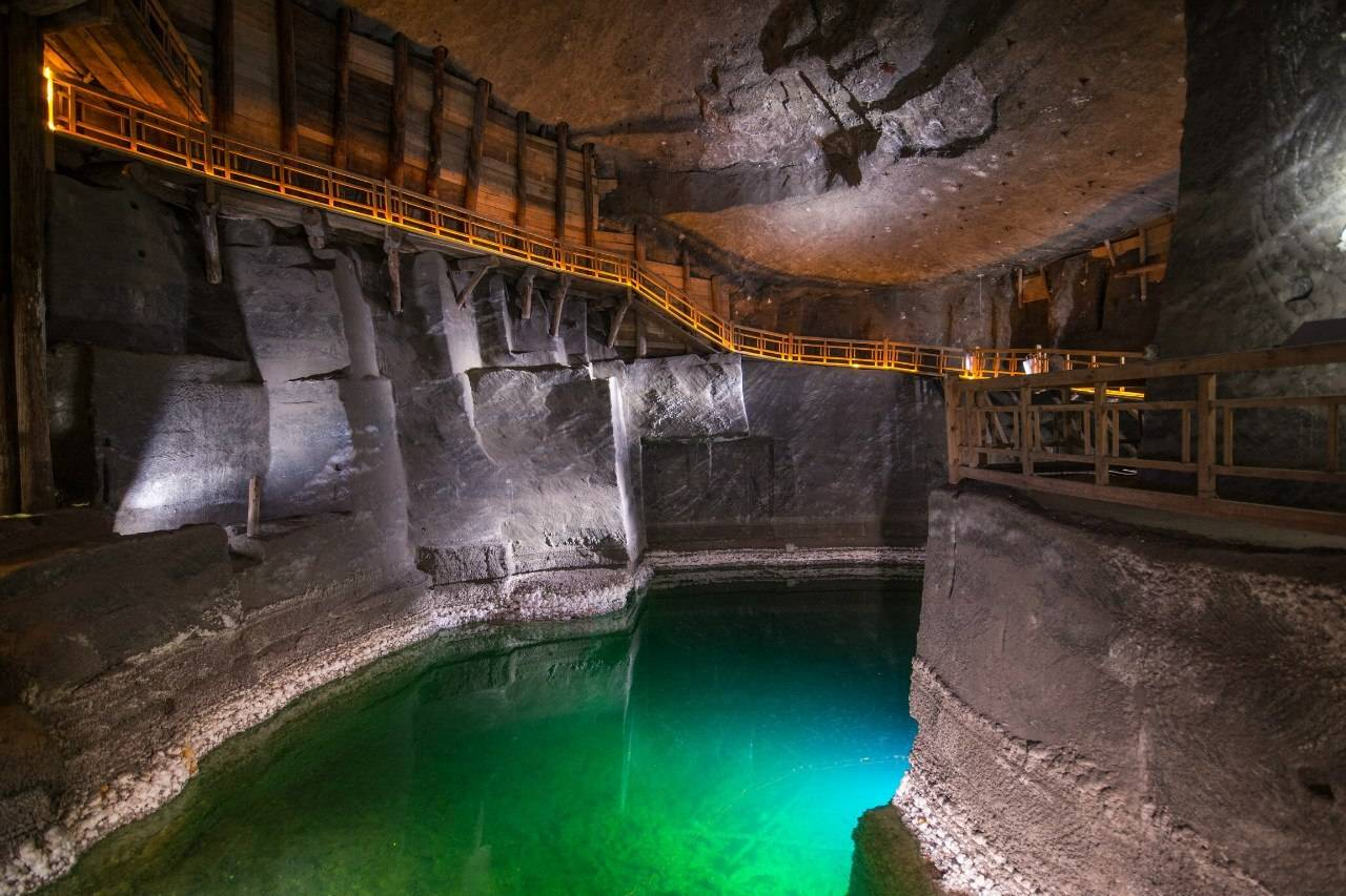 Копальня соли Величка в Польше