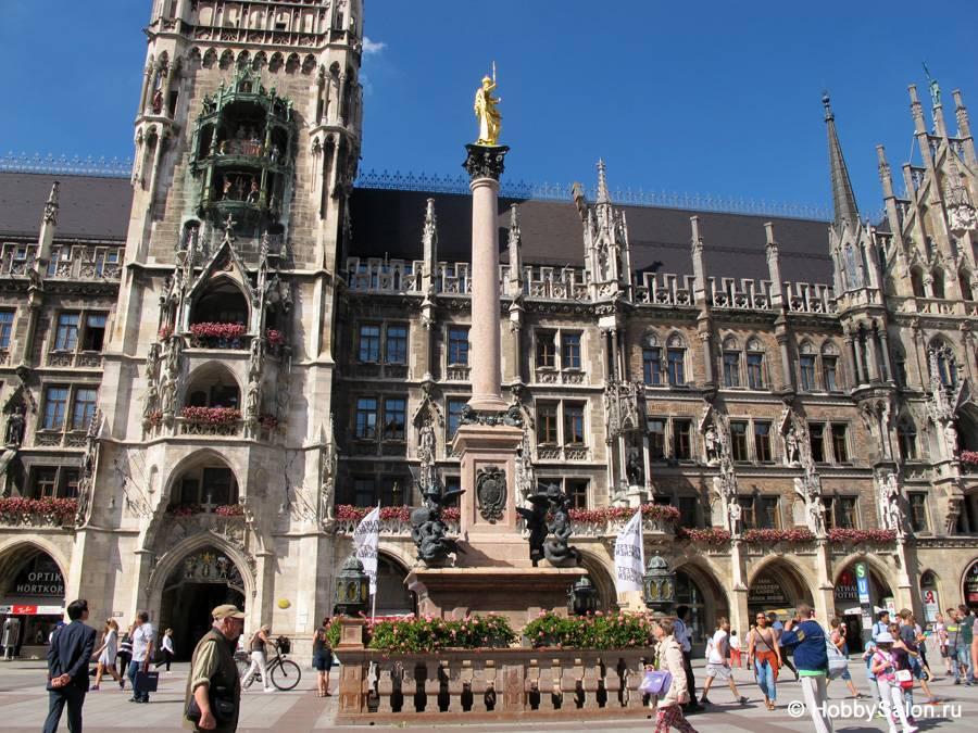 Достопримечательности мюнхена – мариенплац, новая ратуша, старая ратуша, нимфенбург, замок блютенбург