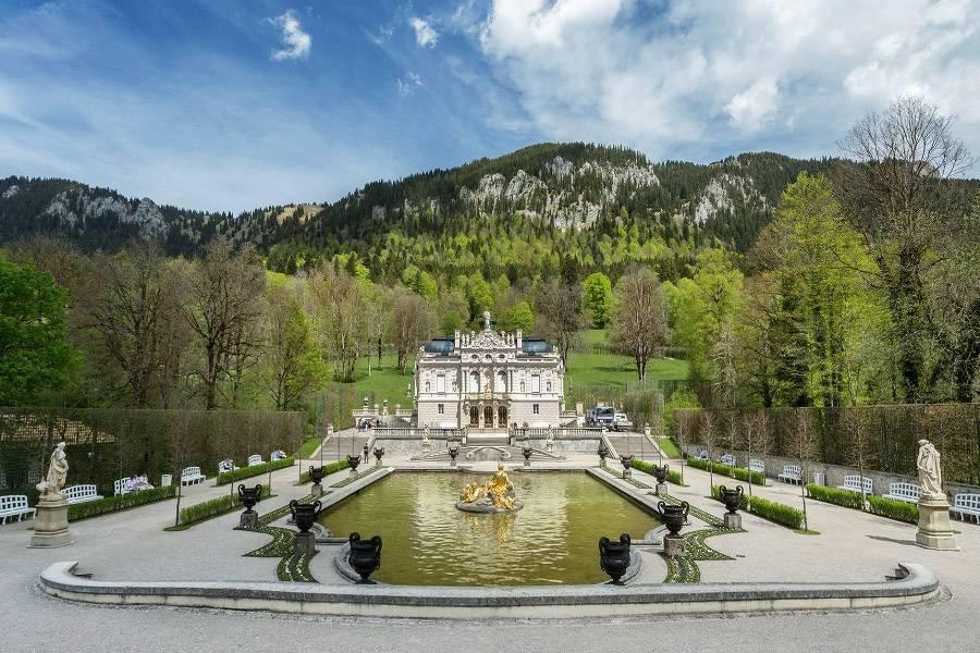 Линдергоф — замок под липами в верхней баварии — rovdyr dreams