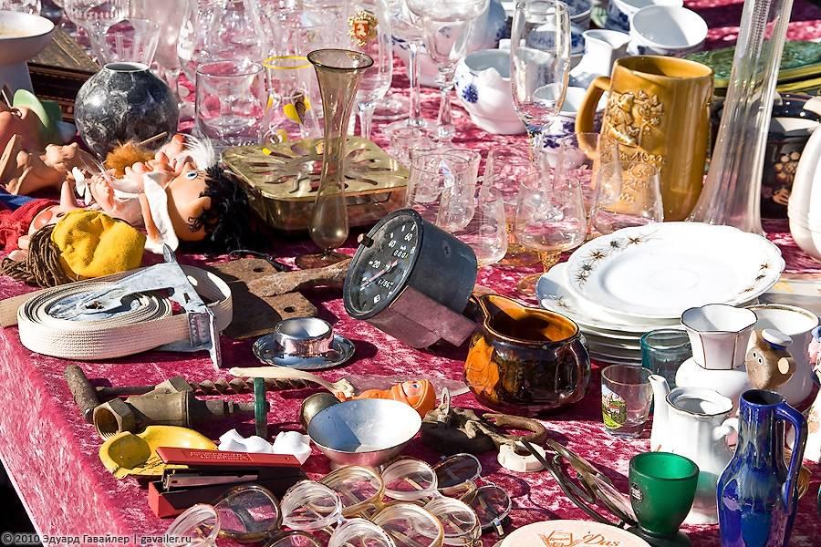 Блошиные рынки мира - место скупки старых вещей