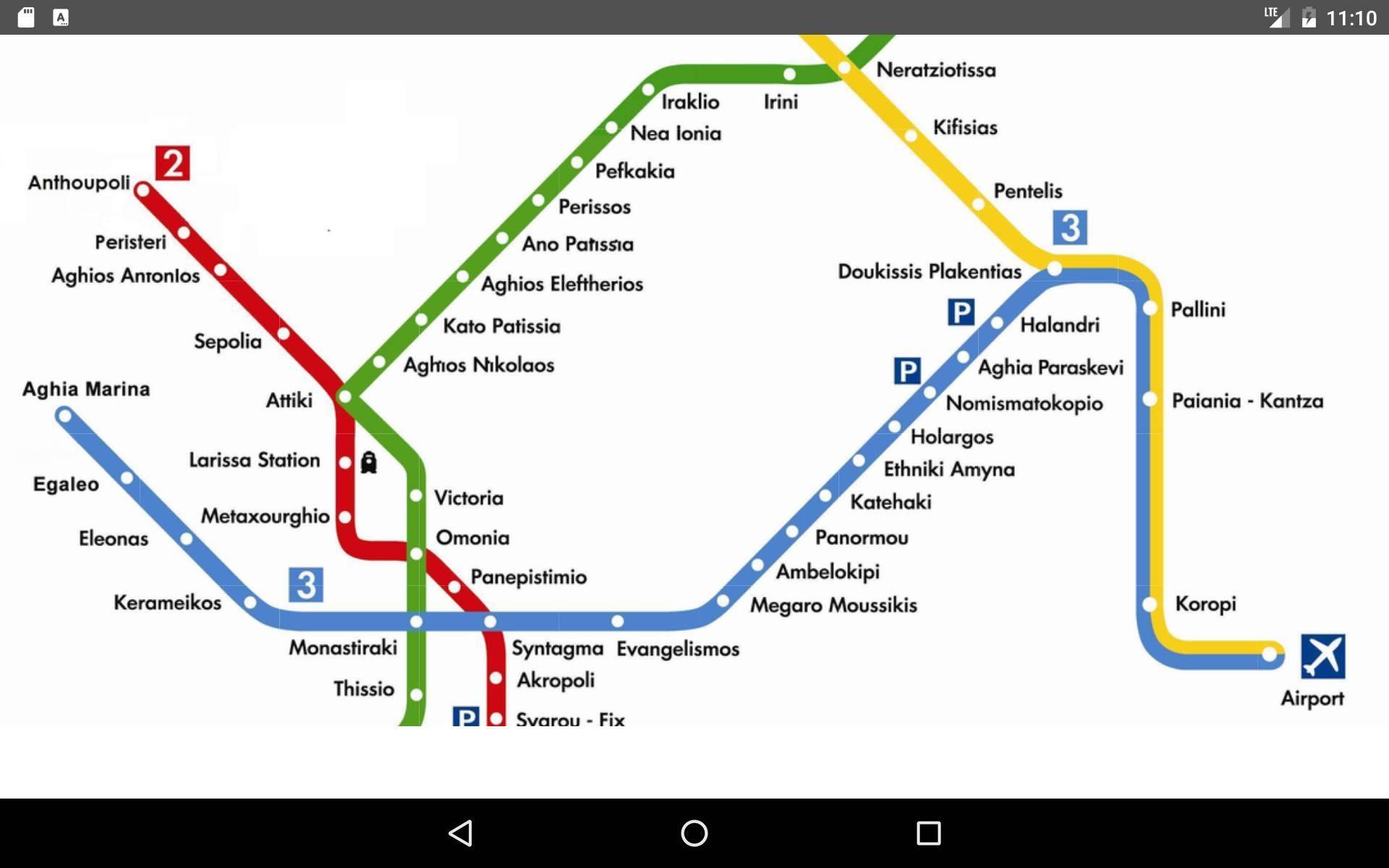 Схема метро афины: линии метро, покупка билетов и проезд