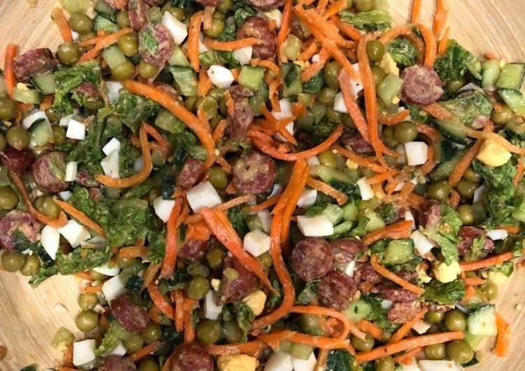 Рецепт: салат баварский