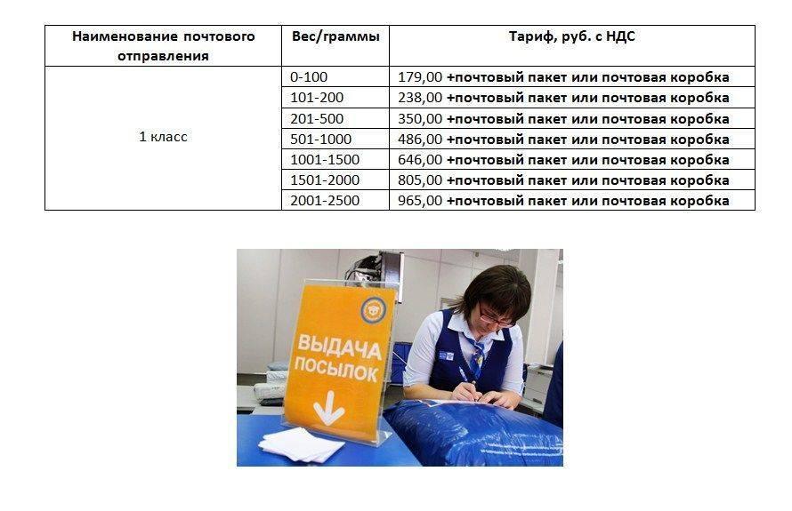 Тарифы почты россии в 2021 году на посылки, бандероли, отправку писем и международные отправления - таблица стоимости