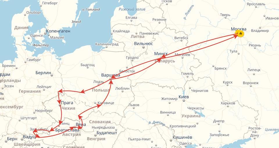 Из кракова поездом в прагу, братиславу, будапешт, берлин