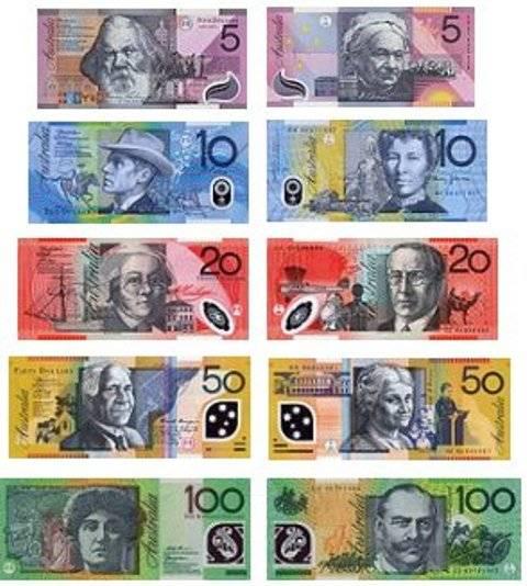 Австралийский доллар: история появления, технические и визуальные отличия купюр