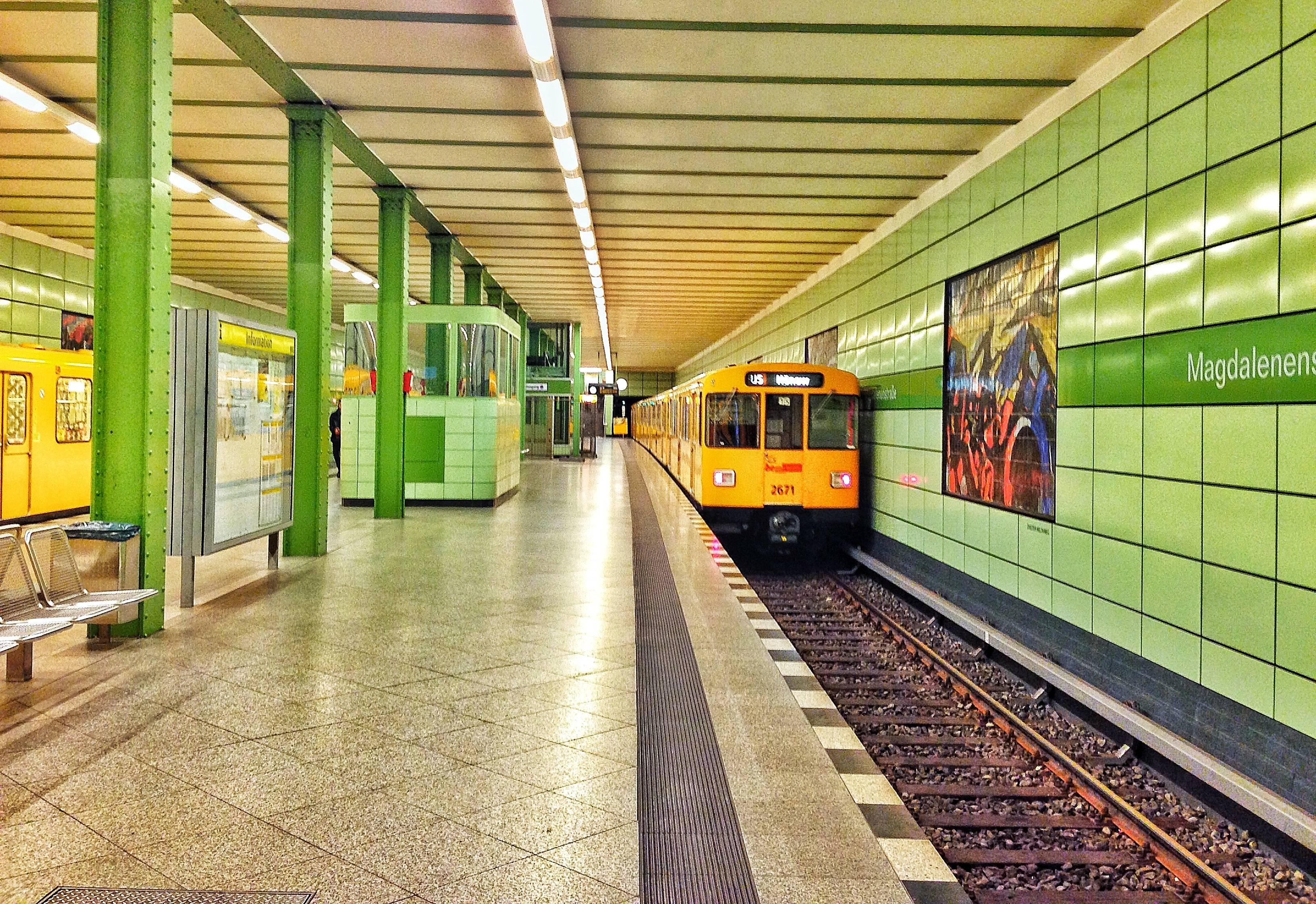 Метрополитен в германии