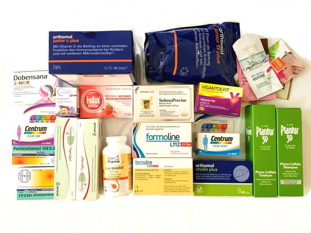 Рецепты на медикаменты в германии (4 цвета, значение полей)