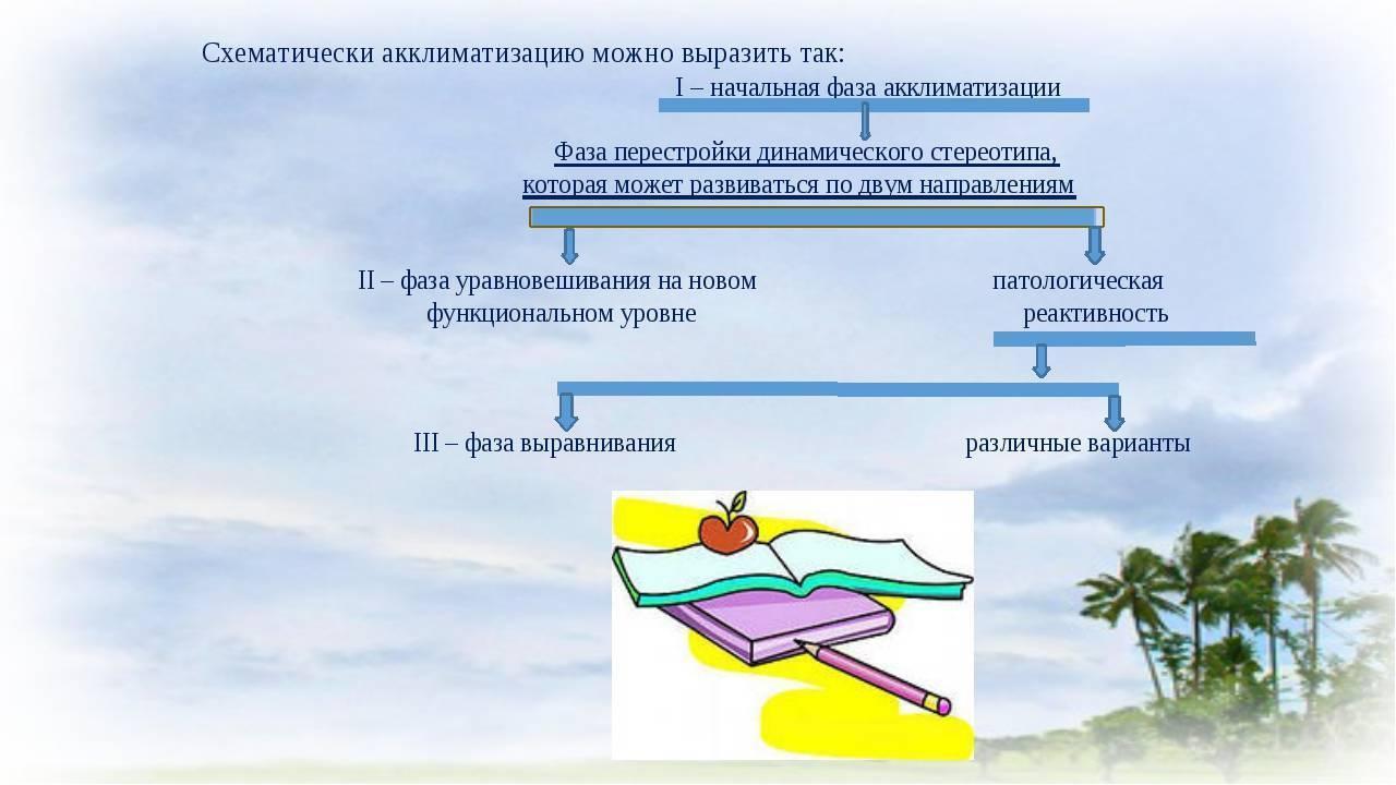 Основные правила акклиматизации - секреты гастрономии