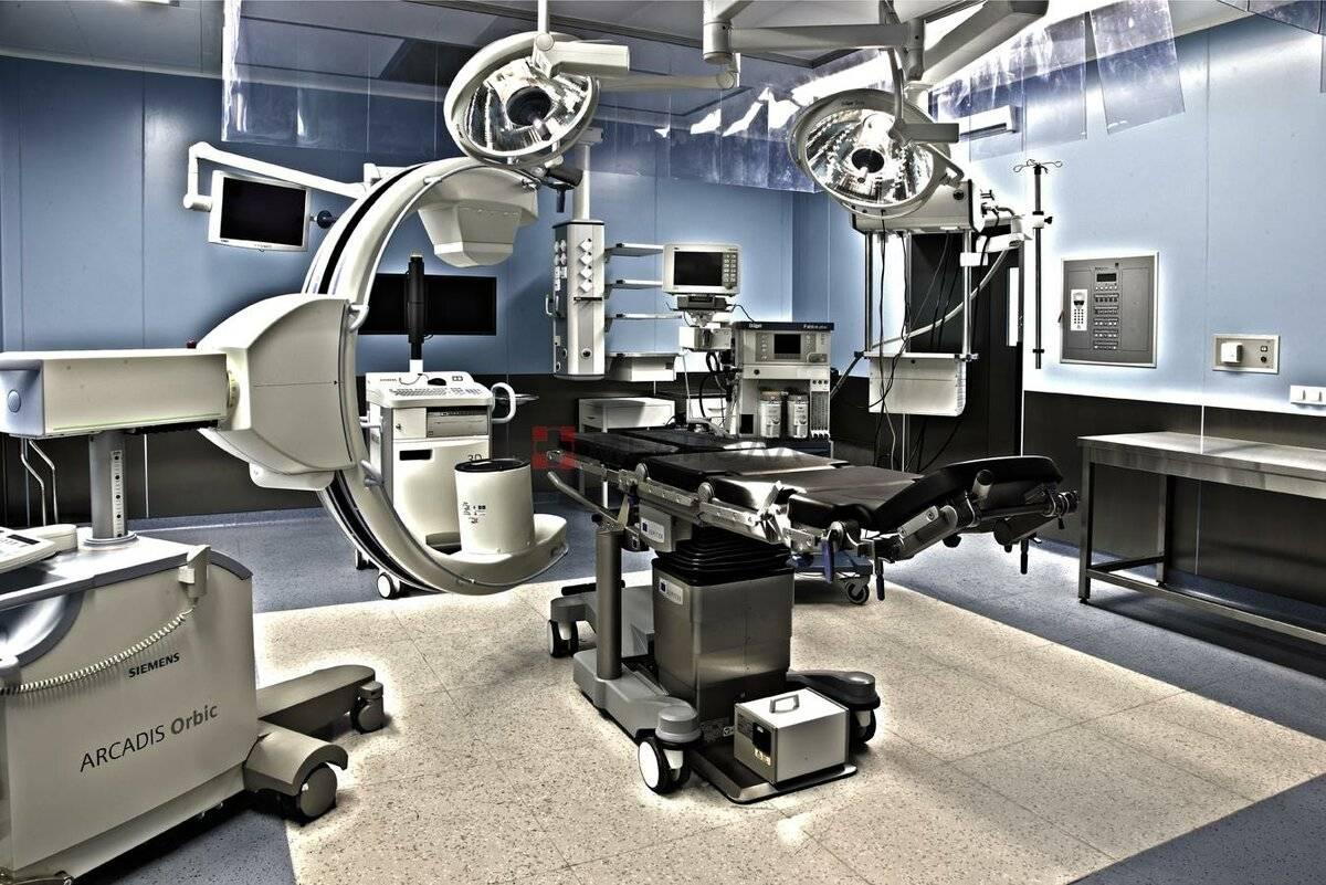 Университетская клиника эссен (западная германия)