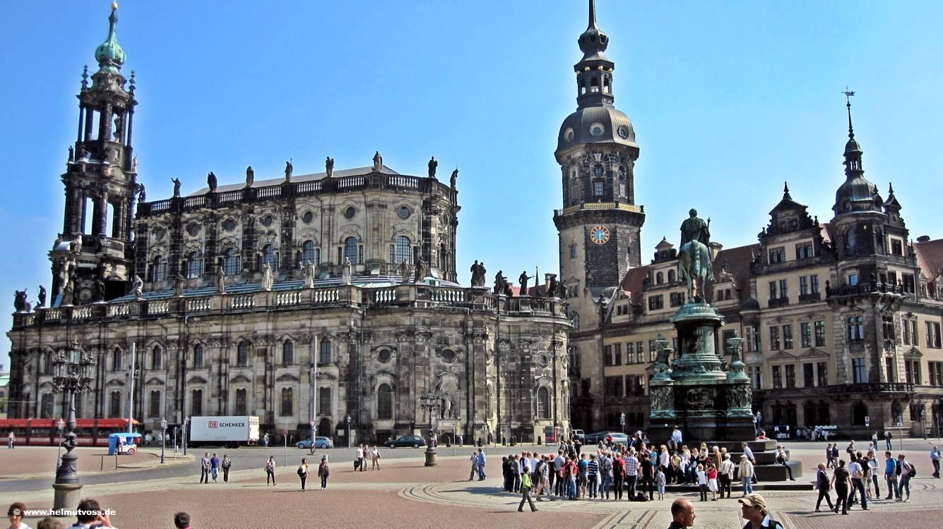 Прекрасный дрезден в германии: известные храмы, соборы и мечети