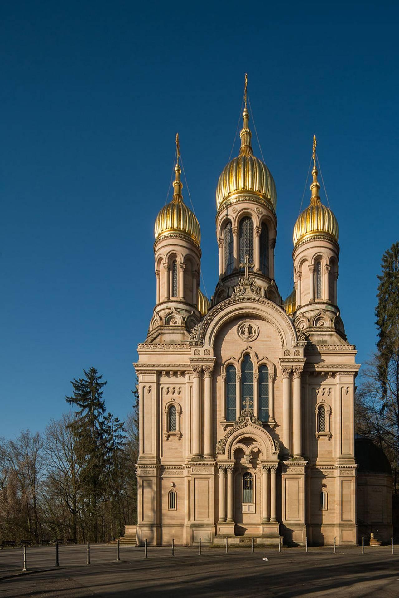 Церковь Святой Елизаветы в Висбадене: история и современность