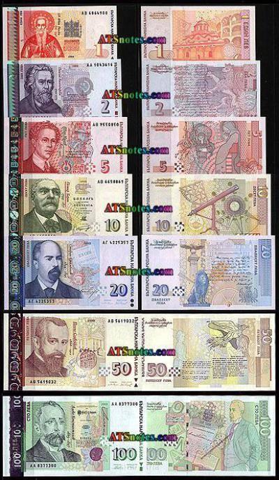 Рубль в болгарии