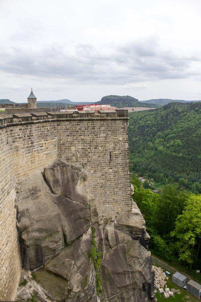 Саксонская швейцария и крепость кёнигштайн