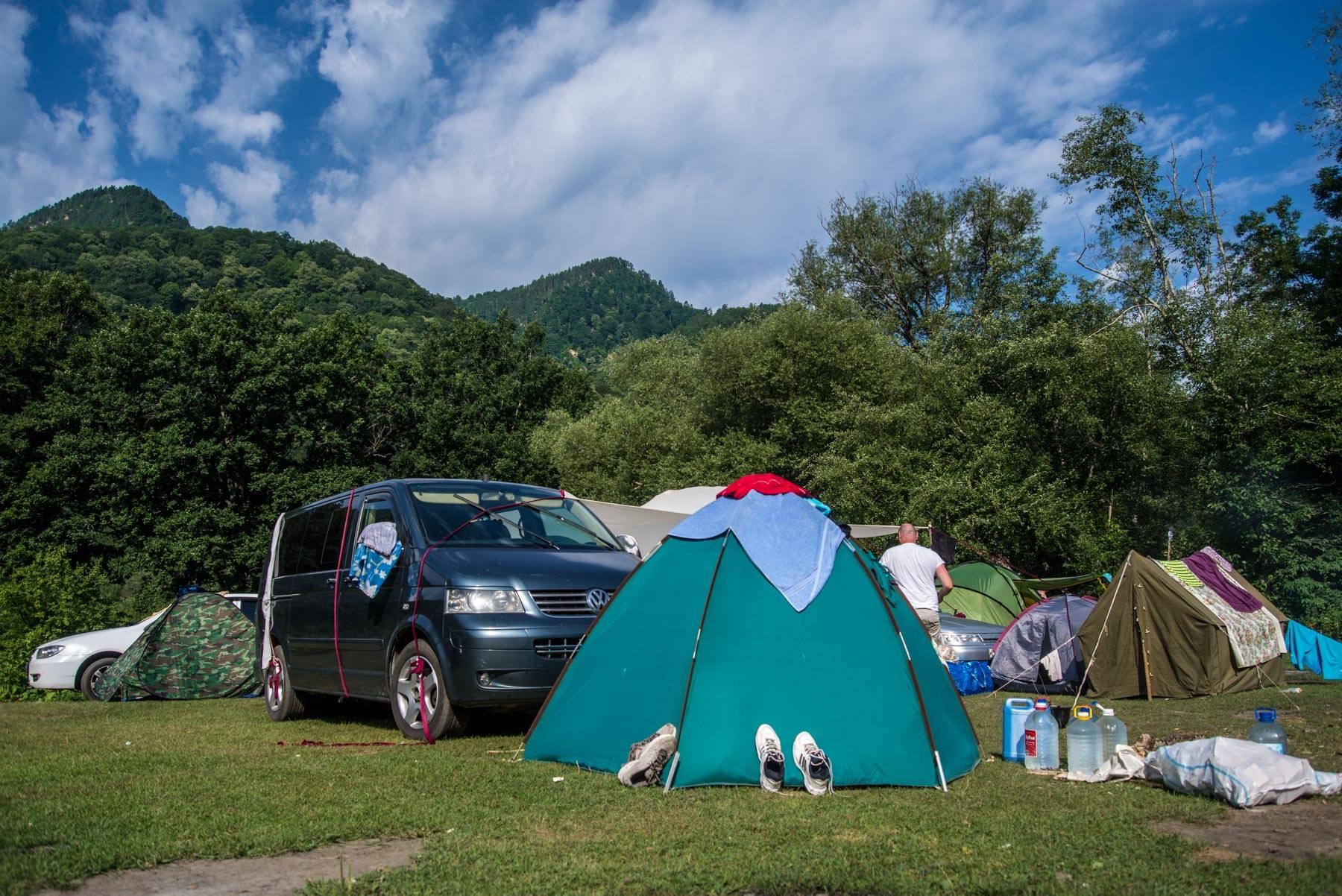 С палаткой по европе: направления, кемпинги и советы